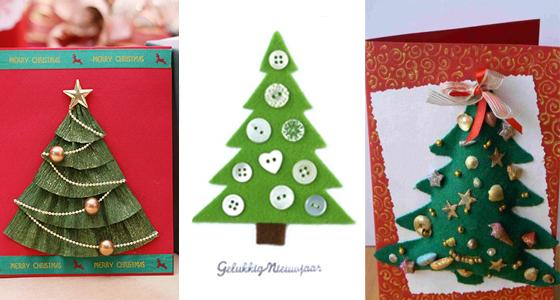 Как сделать объемную открытку на новый год