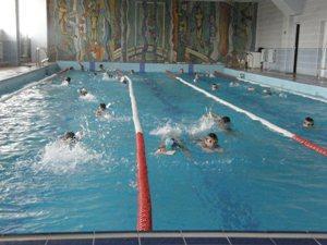 плавание в бассейне Вега