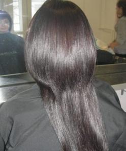 после кератинового выпрямления волос